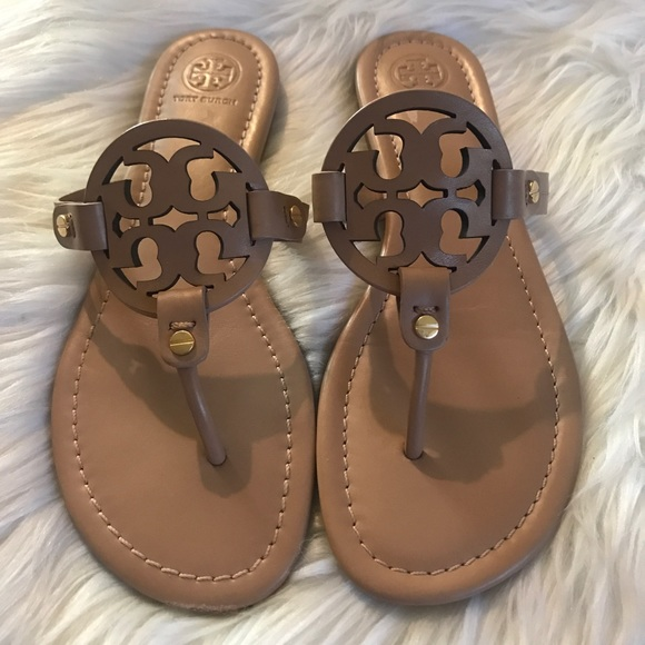 c6e762f0e Tory Burch Shoes - Tory Burch Miller Sandal Size 8!
